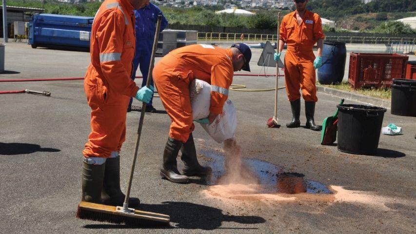 Stage Cedre pour VEOLIA - Lutte contre les pollutions accidentelles par produits chimiques